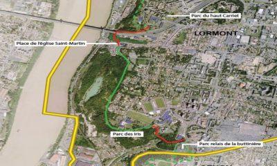 Aménagement Du Fil Vert Secteur Nord Du Pont D'Aquitaine : Front Rocheux Et Zone De Carrières – Lormont (33)
