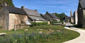 Aménagement Du Centre Bourg De Lesouët Gouarec (22)