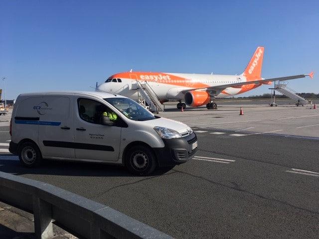 Des Investigations Complémentaires Au Milieu Des Avions Sur L'aéroport De Mérignac (33)