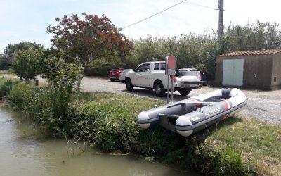 Recensement, Prises Et Rejets D'eau Du Canal Des Deux Mers (33) Et (34)