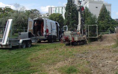 Diagnostic Environnemental, études Géotechniques Et Levé Topographique Dans Le Cadre De La Construction D'un Collège à Grenoble (38)