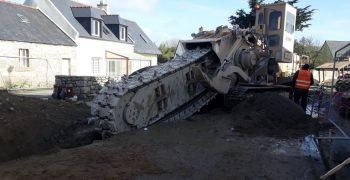 Extension Du Réseau De Collecte Des Eaux Usées De La Commune De Lanrivoaré (29)
