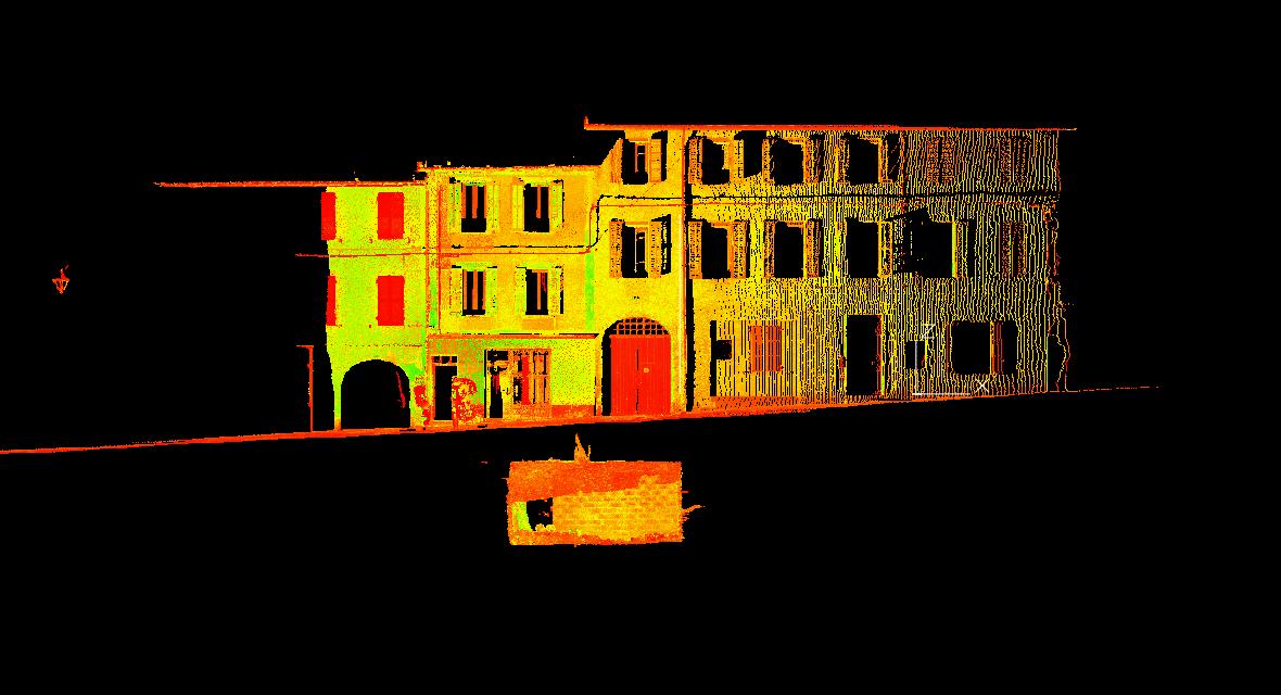 Levés De Précision Par Scanner De Caves Existantes Sous Rues Commerçantes à Saint-Pierre D'Albigny (73)