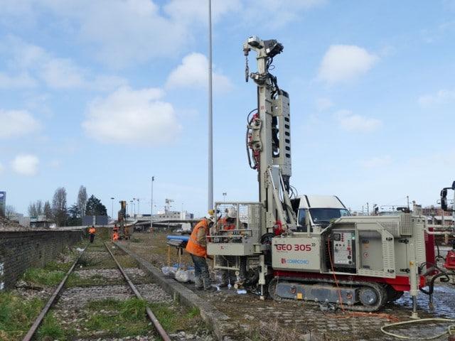 Réhabilitation Des Voies SNCF Pour La Construction De Nouveaux Bâtiments Au Havre (76)